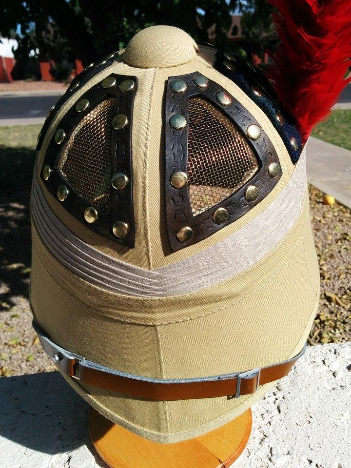 Vented Pith Helmet